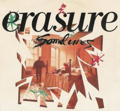 Erasure Sometimes album cover