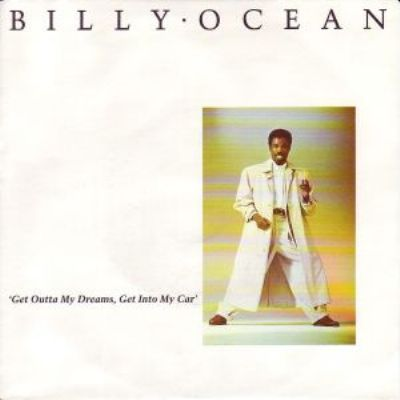 Billy Ocean Get Outta My Dreams Get Into My Car album cover