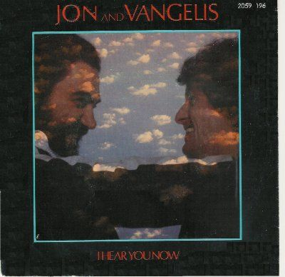 Jon & Vangelis I Hear You Now album cover