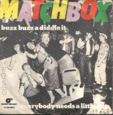 Matchbox Buzz Buzz A Diddle It album cover