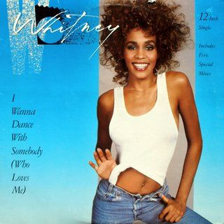 Whitney Houston I Wanna Dance With Somebody album cover