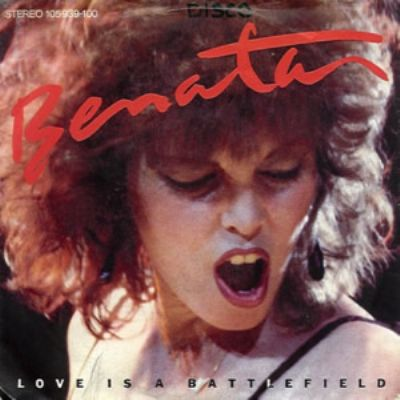 Pat Benatar Love Is A Battlefield album cover