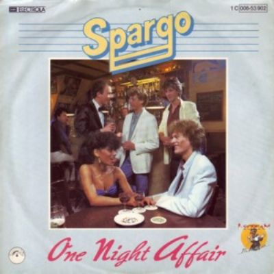 Spargo One Night Affair album cover