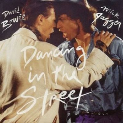 David Bowie & Mick Jagger Dancing In The Street album cover