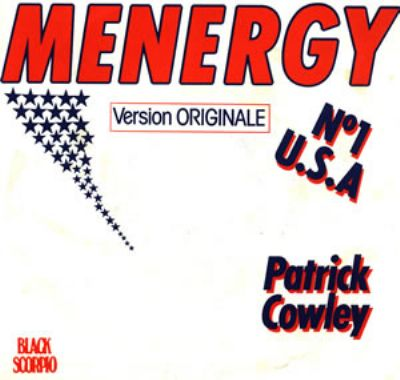 Patrick Cowley Menergy album cover