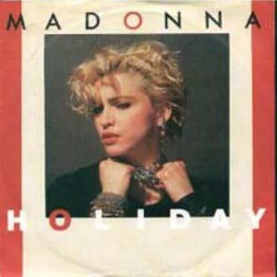 Madonna Holiday album cover
