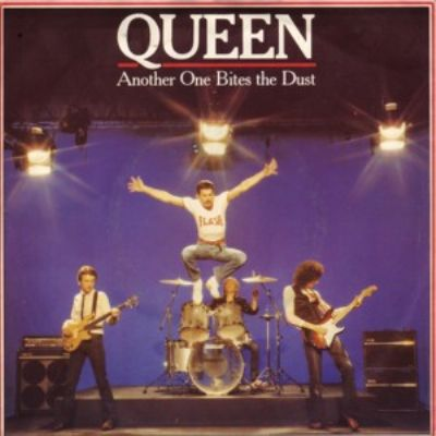 Queen Another One Bites The Dust album cover