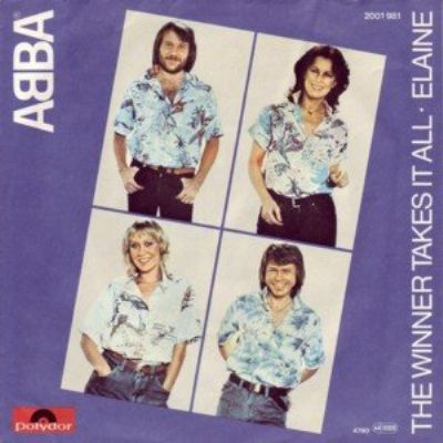 Abba The Winner Takes It All album cover