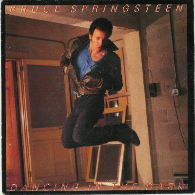 Bruce Springsteen Dancing In The Dark album cover