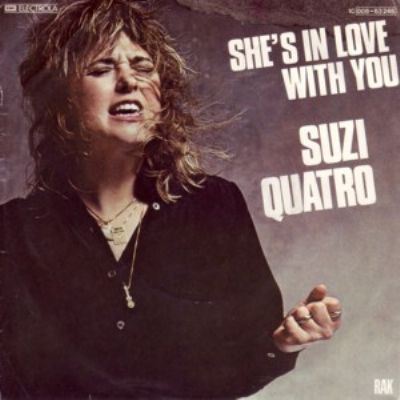 Suzi Quatro She's In Love With You album cover