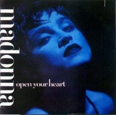 Madonna Open Your Heart album cover