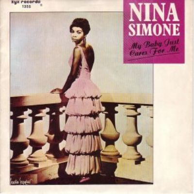 Nina Simone My Baby Just Cares For Me album cover
