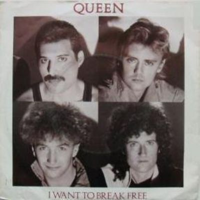 Queen I Want To Break Free album cover