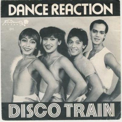 Dance Reaction Disco Train album cover