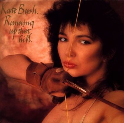 Kate Bush Running Up That Hill album cover
