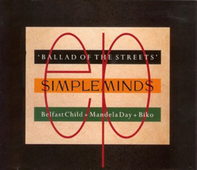Simple Minds Belfast Child album cover