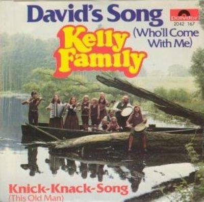 Kelly Family David's Song (Who'll Come With Me) album cover