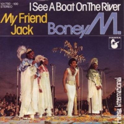 Boney M I See A Boat On The River album cover