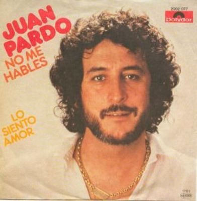 Juan Pardo No Me Hables album cover