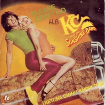 KC & The Sunshine Band Please Don't Go album cover