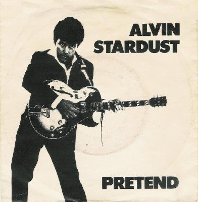 Alvin Stardust Pretend album cover