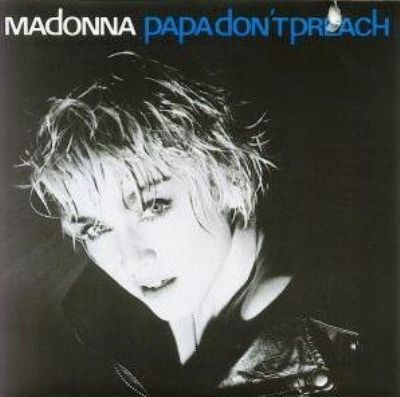 Madonna Papa Don't Preach album cover
