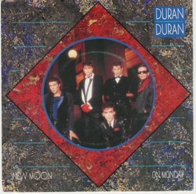 Duran Duran New Moon On Monday album cover