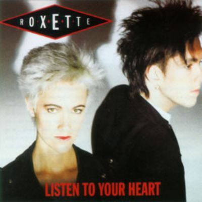 Roxette Listen To Your Heart album cover