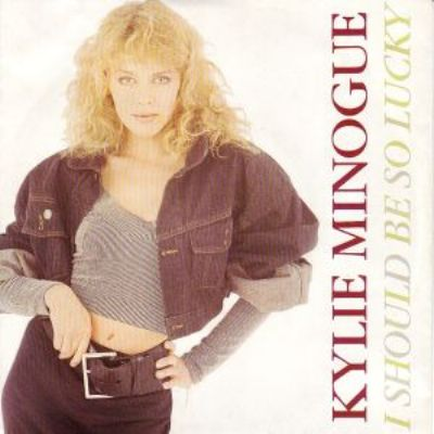 Kylie Minogue I Should Be So Lucky album cover