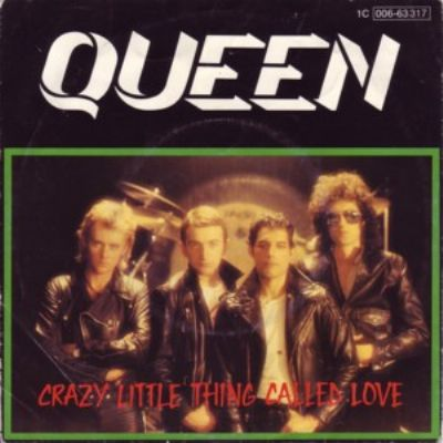 Queen Crazy Little Thing Called Love album cover