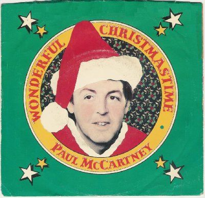 Paul McCartney Wonderful Christmas Time album cover