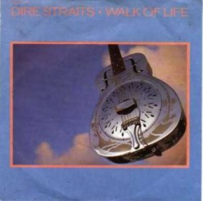 Dire Straits Walk Of Life album cover