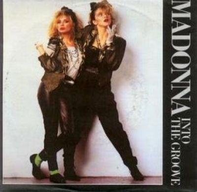 Madonna Into The Groove album cover