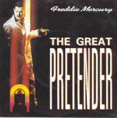 Freddie Mercury The Great Pretender album cover