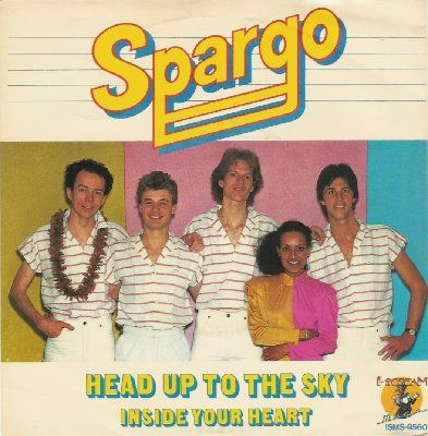 Spargo Head Up To The Sky album cover