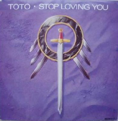 Toto Stop Loving You album cover