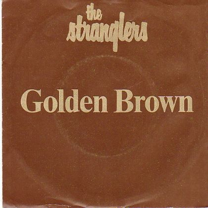 Stranglers Golden Brown album cover