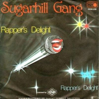 Sugarhill Gang Rapper's Delight album cover