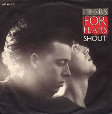 Tears For Fears Shout album cover