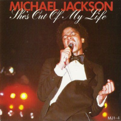 Michael Jackson She's Out Of My Life album cover