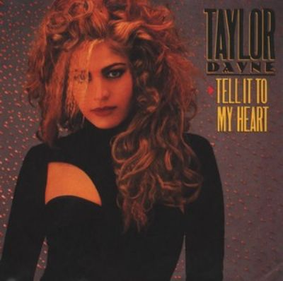 Taylor Dayne Tell It To My Heart album cover