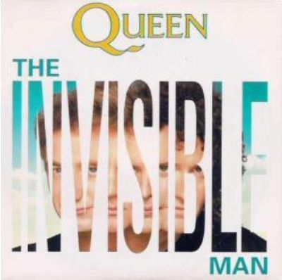 Queen The Invisible Man album cover
