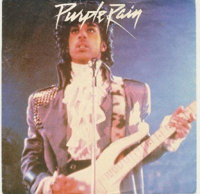 Prince & The Revolution Purple Rain album cover