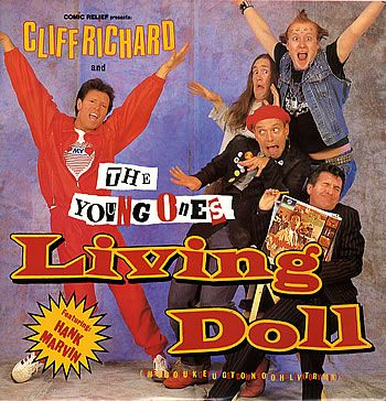 Cliff Richard & The Young Ones Living Doll album cover
