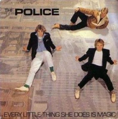 Police Every Little Thing She Does Is Magic album cover