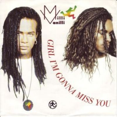 Milli Vanilli Girl I'm Gonna Miss You album cover