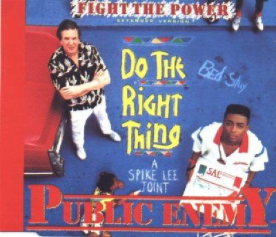Public Enemy Fight The Power album cover