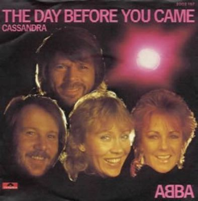 Abba The Day Before You Came album cover