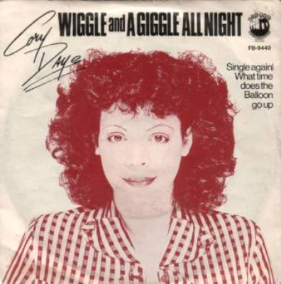 Cory Daye Wiggle And A Giggle All Night album cover