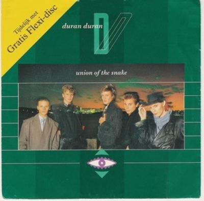 Duran Duran Union Of The Snake album cover